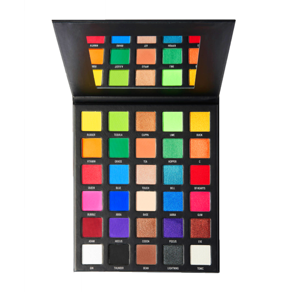 Sample Beauty The Equalizer Palette