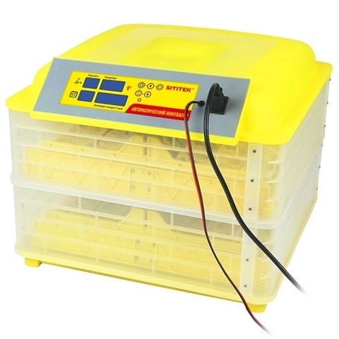 Инкубатор для яиц с автоматическим поворотом, терморегулятором и гигрометром