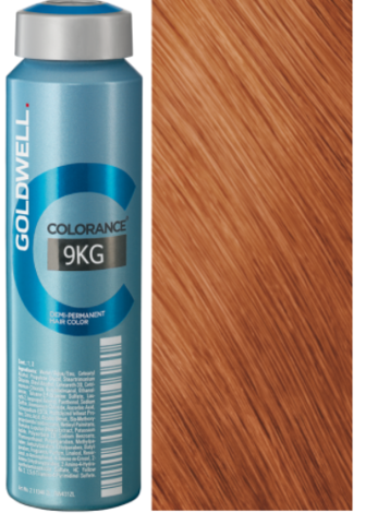 Goldwell Colorance 9KG медно-золотистый блондин экстра 120 мл