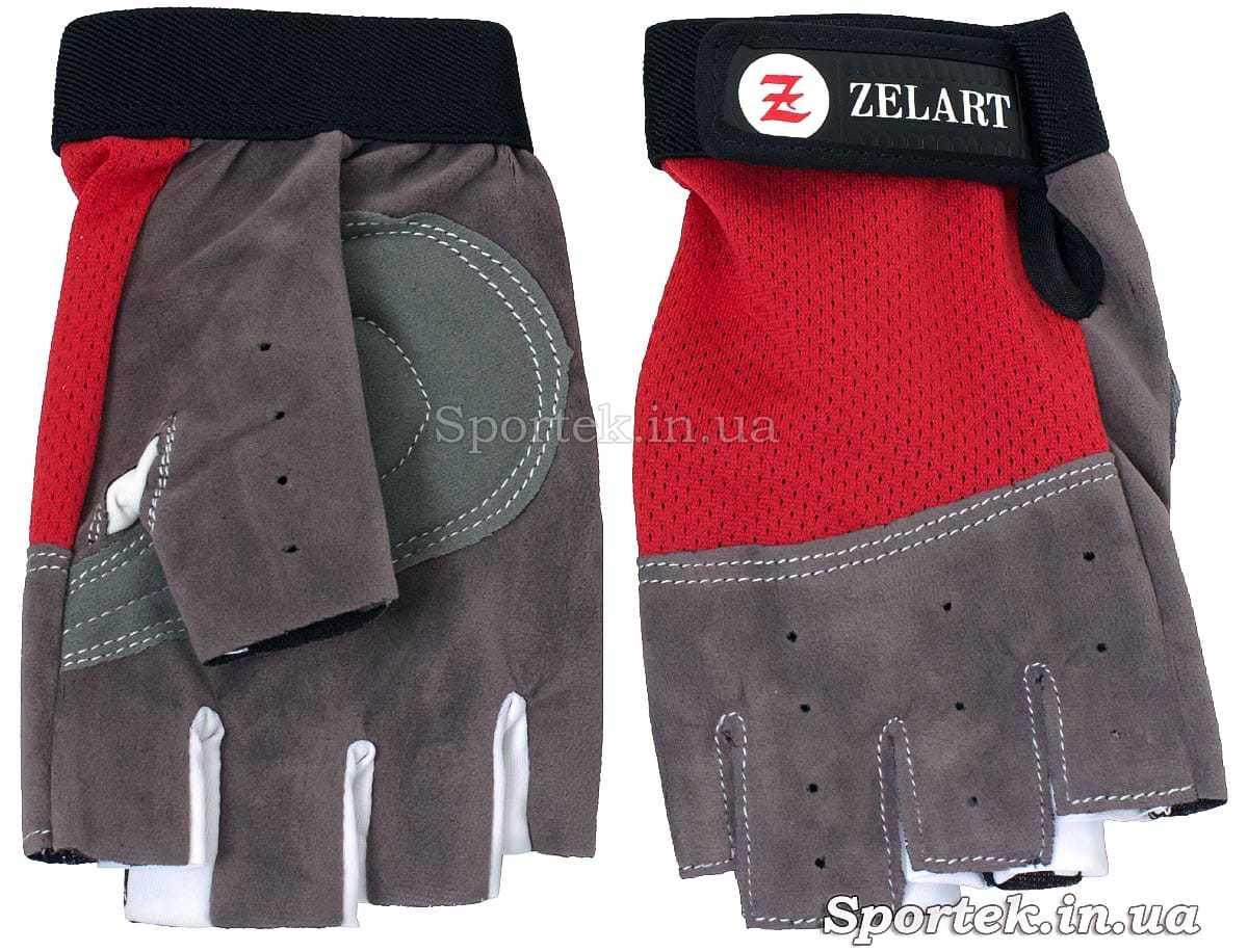 Перчатки велосипедные детские (Zelart) с полной защитой ладони и кисти без пальцев