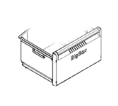 Ящик морозилки средний для холодильника Siemens BOSCH  477205