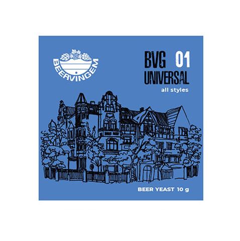 Дрожжи Beervingem Universal BVG-01, 10 г