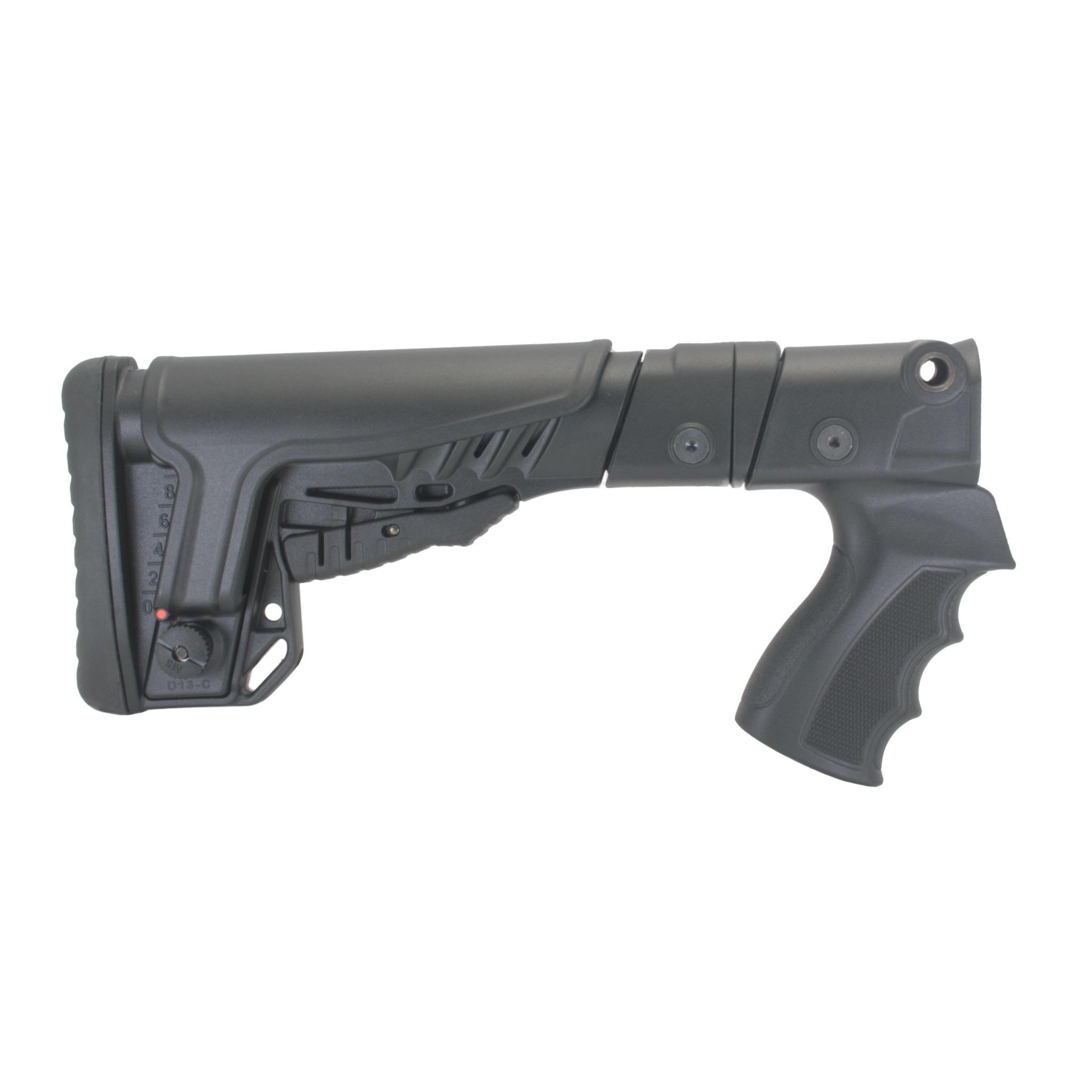 Купить Комплект: Пластиковый приклад МР-153, -133, DLG Tactical