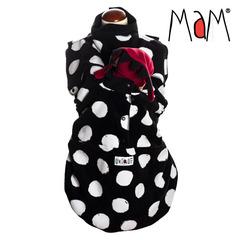 Флисовая слинговставка-накидка MaM Snuggle, Снежки