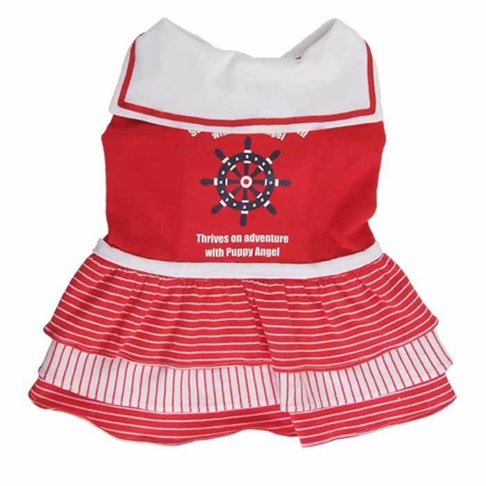 платье для йорка морячка