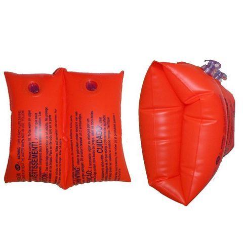 Нарукавники для плавания, оранжевые (19х19 см), И59640