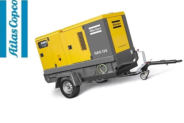 Дизельная электростанция (генератор) Atlas Copco QAS 125 FLX