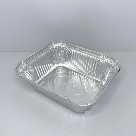 Контейнер прямоугольный из пищевой алюминиевой фольги SP15L