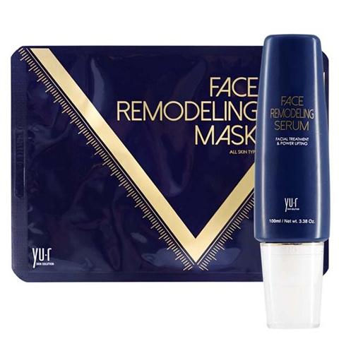 Yu-r Программа моделирования овала лица 4D эффект (гель+8 масок) - Face Remodeling Mask