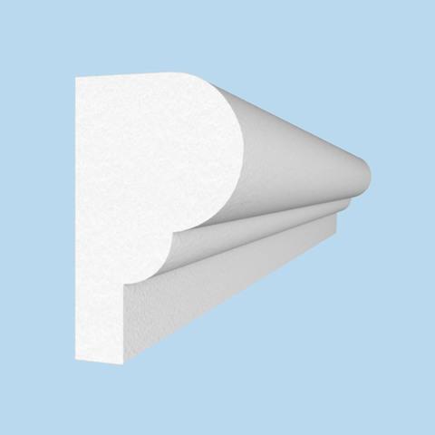 Цокольный пояс из пенопласта