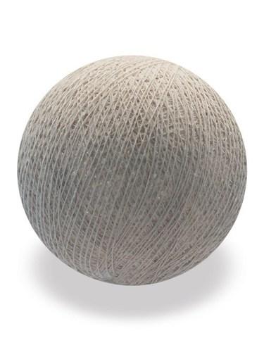 Хлопковый шарик мокрый песок