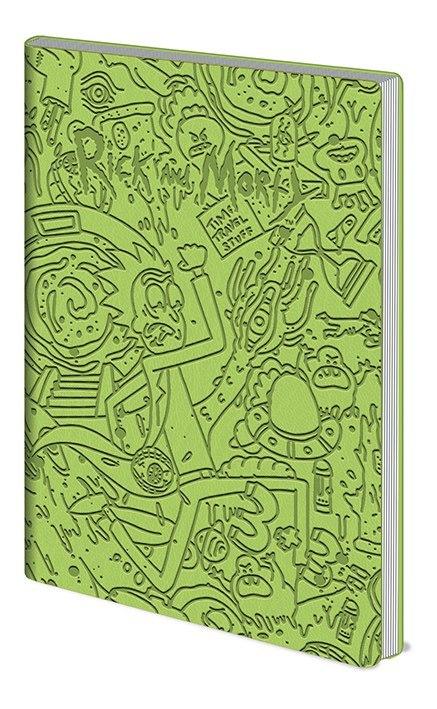 Записная книжка Rick and Morty (Portal Dash)