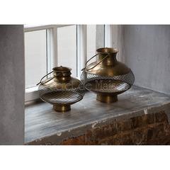 Фонарь для свечей Secret De Maison MONTO ( mod. M-17021А ) — античная медь