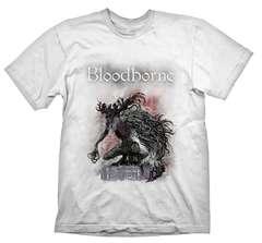 Футболка Bloodborne Bossfight White