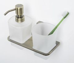 Дозатор для жидкого мыла WasserKRAFT Exter K-5289 со стаканом