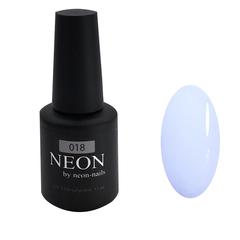 Эмалевый голубой гель-лак NEON