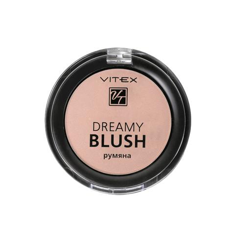 VITEX Румяна компактные DREAMY BLUSH тон 102 Golden peach