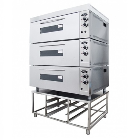 Шкаф жарочно-пекарский GRILL MASTER Шжэ/3 (цельный, кр. металл)  (печь хлебопекарная)