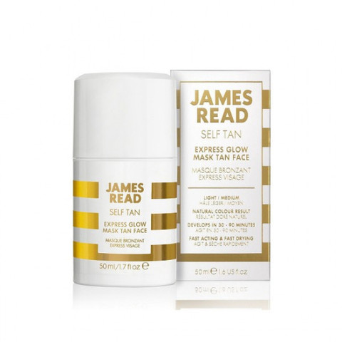 Экспресс-маска для лица автозагар James Read Express Glow Mask Face