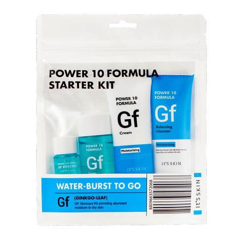 It's Skin Уходовый набор миниатюр для лица, увлажняющий Power 10 Formula GF Starter Kit, 52 мл+12 мл+35 мл+35 мл