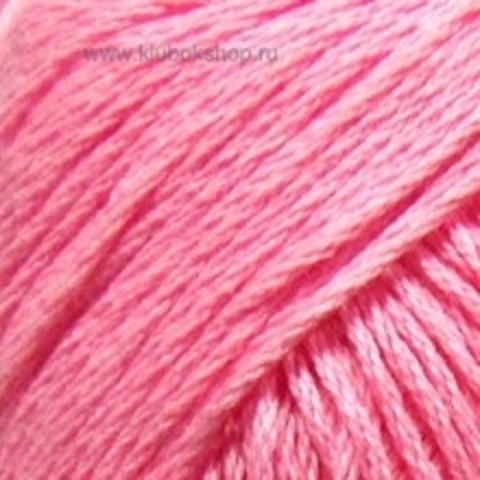 Пряжа Хлопок натуральный (Пехорка) Розовый 20