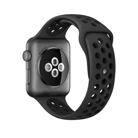 Ремешок Apple watch 38mm Sport Nike /anthracite black/