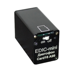 Диктофон EDIC-mini CARD16 A99m