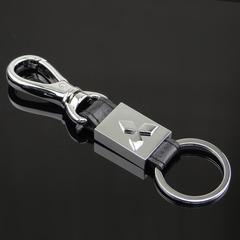 Брелок металлический для ключей с логотипом автомобиля Митсубиси (Mitsubishi)