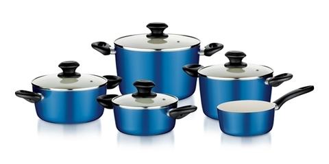 Набор посуды Tescoma ecoPRESTO, 9 предметов