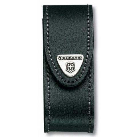 Чехол Victorinox (4.0520.3B1) для 91мм толщина 2-4 ур кожа черный блистер