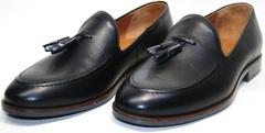 Черные мужские туфли Ikoc BlacK-1