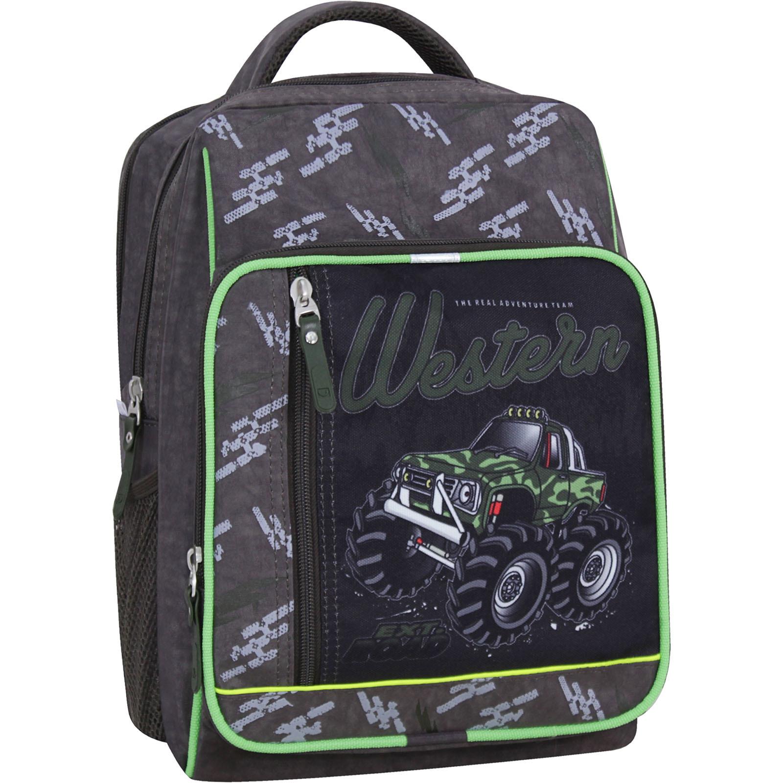 Школьные рюкзаки Рюкзак школьный Bagland Школьник 8 л. хаки 664 (0012870) IMG_2621_суб_664_-1600.jpg