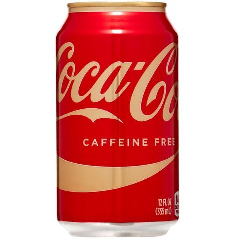 Coca-Cola Caffeine free Кока-Кола без кофеина 0,355 л