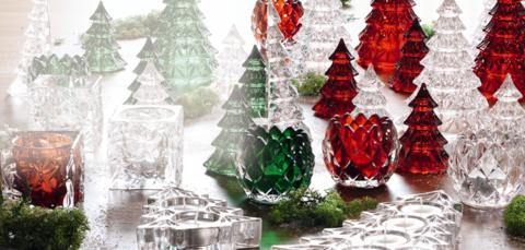 Елочка красная артикул 87566. Серия Crystal Christmas