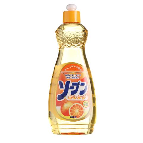 Kaneyo Средство для мытья посуды, овощей и фруктов сладкий апельсин 600 мл