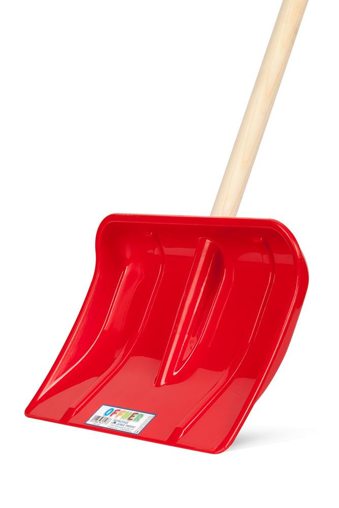 Лопата для снега детская, пластиковая OFFNER
