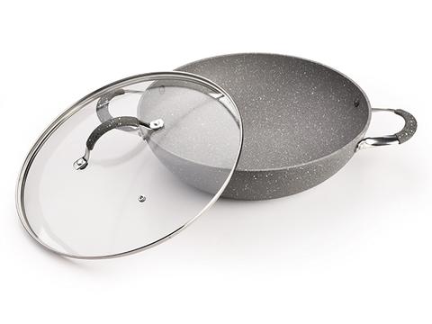 4398 FISSMAN Iron Stone Сковорода ВОК 32 см,  купить