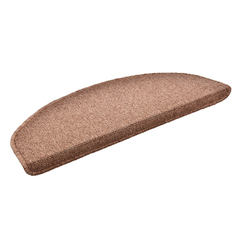 Коврик на ступеньку коричневый, 25*65 см