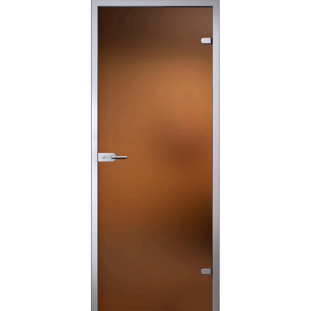 Межкомнатные двери Межкомнатная стеклянная дверь АКМА Лайт стекло бронзовое матовое lait-bronza-dvertsov-min.jpg