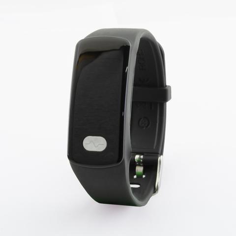 Браслет здоровья с измерением давления, снятием ЭКГ и круглосуточным мониторингом пульса Health Band №11 (чёрный)