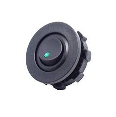 Кнопка-переключатель с подсветкой для установки в пластик