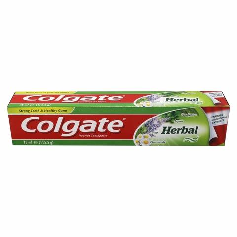 Зубная паста COLGATE Лечебные травы 75 мл