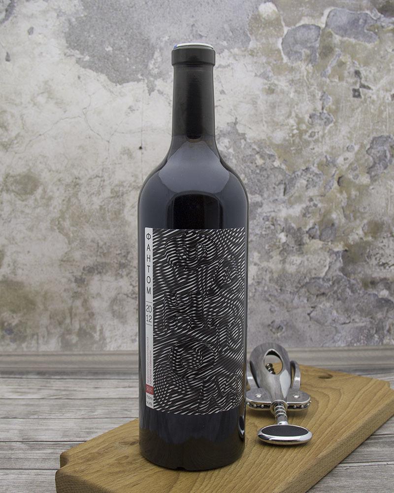 Вино Красное сухое Phantom Красностоп Золотовский Каберне Совиньон 30/70 2012 г.у. 14,4% 0,75 л