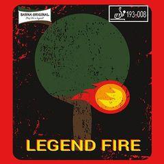 Короткие шипы BARNA ORIGINAL Legend Fire
