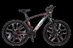 Велосипед Gestalt G-999 литые диски Черно-красный