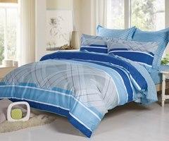 Сатиновое постельное бельё  1,5 спальное Сайлид  В-162