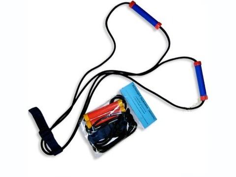 Эспандер лыжника (боксёра)  средней  упругости с жёсткими ручками :(03-03):