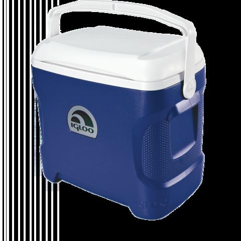 Изотермический контейнер (термобокс) Igloo Contour 30 Cyan (28 л.), темно-синий