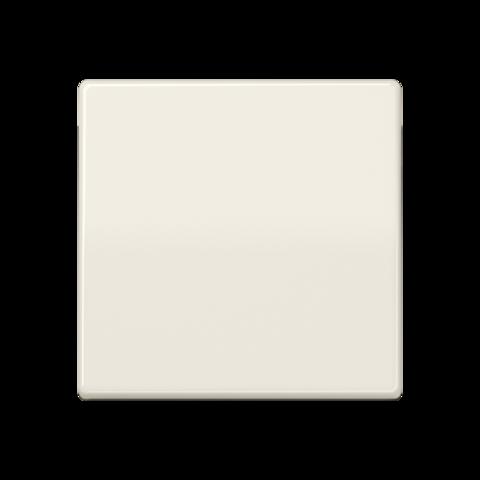 Выключатель одноклавишный проходного типа. 10 A / 250 B ~. Цвет Блестящий слоновая кость. JUNG AS. 506U+AS591BF