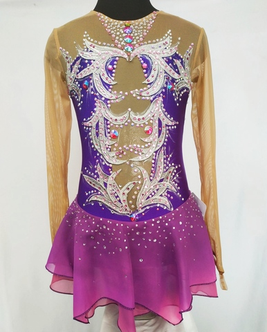 Платье на выступление для фигурного катания